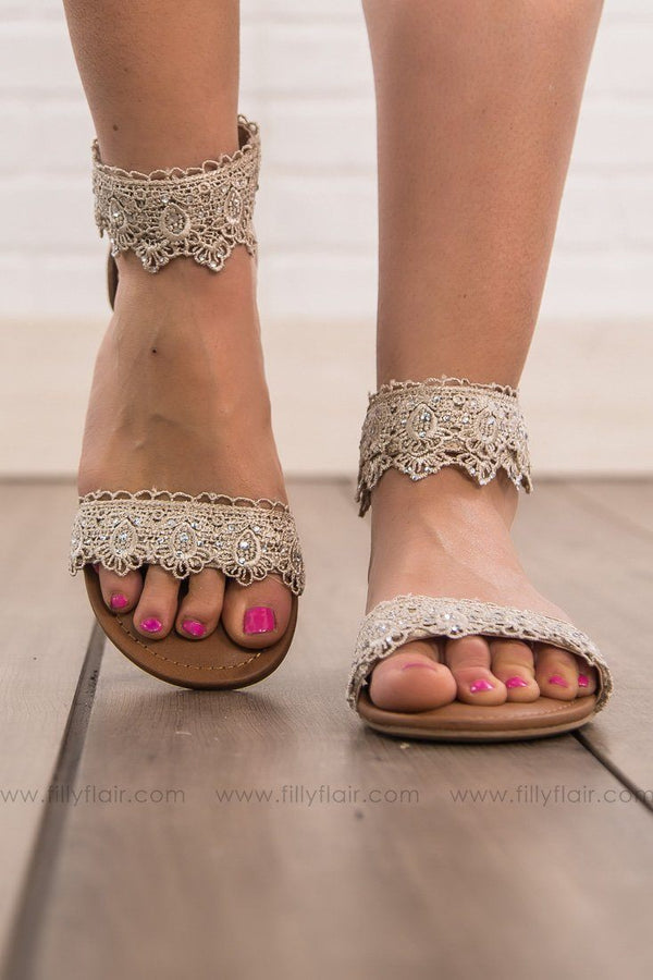 Not Rated Shala Sandal in Cream