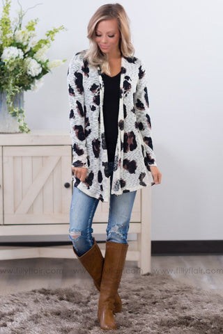 Floral Beauty Long Sleeve Top