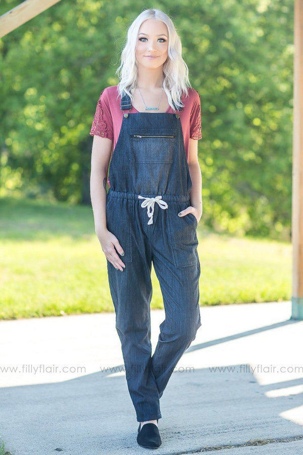 Denim Dream Overalls - Filly Flair