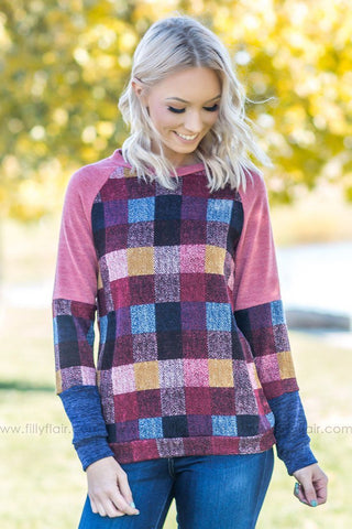 So Sweet Long Multi-Color Block Cardigan