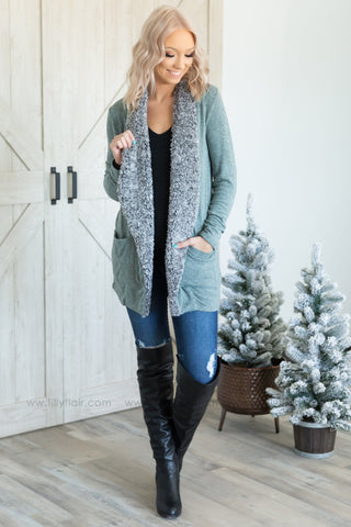 Wildest Dreams Open Short Cardigan With Pockets In Camel