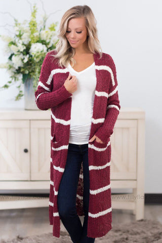 Plaid Wonder Double Hoodie in Mauve