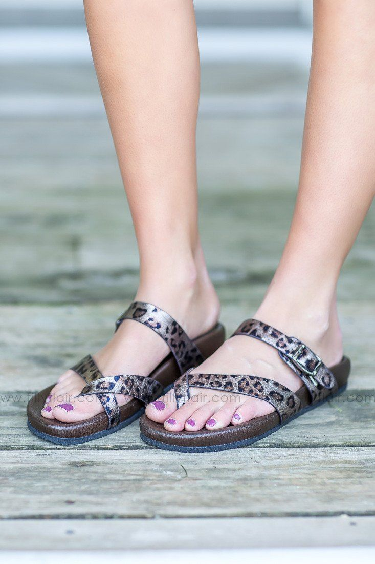 Leopard Very Volatile Sandals