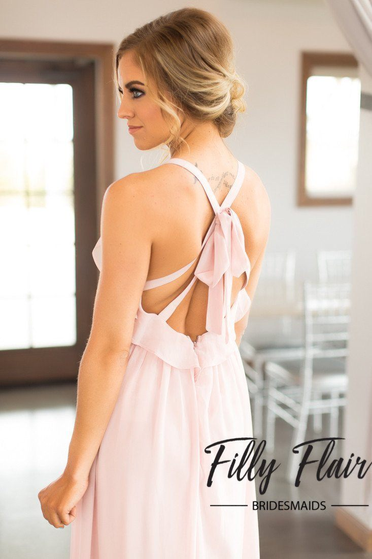 Trendy Bridesmaid Dress