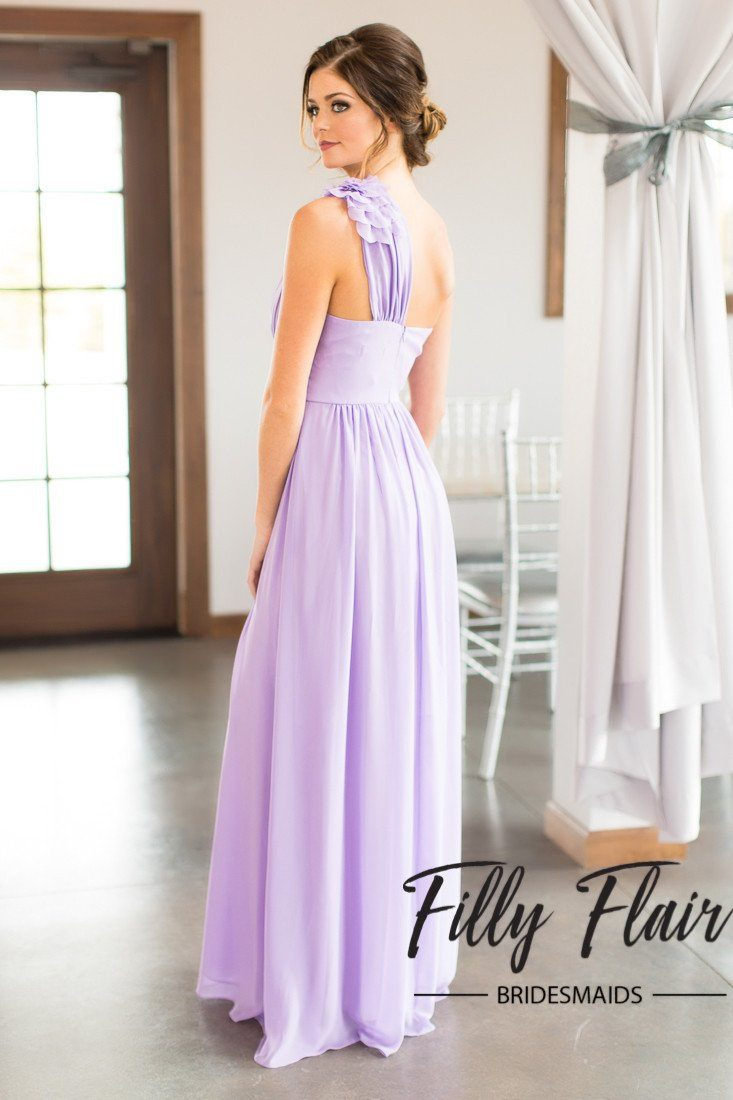Lillian bridesmaid dress in lilac filly flair bridesmaid dresses cheap ombrellifo Choice Image