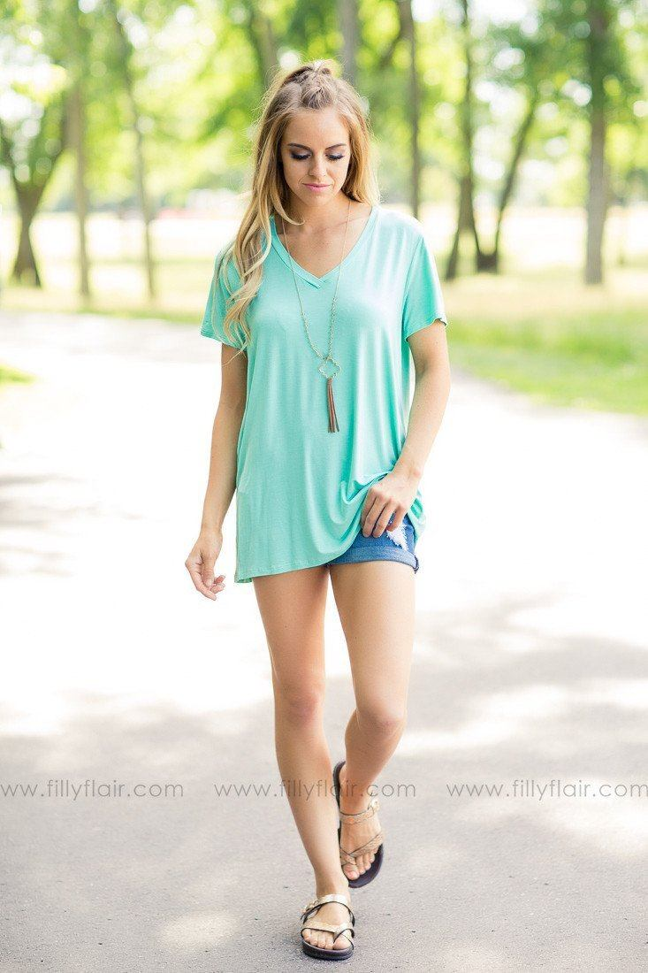 mint basic t-shirts