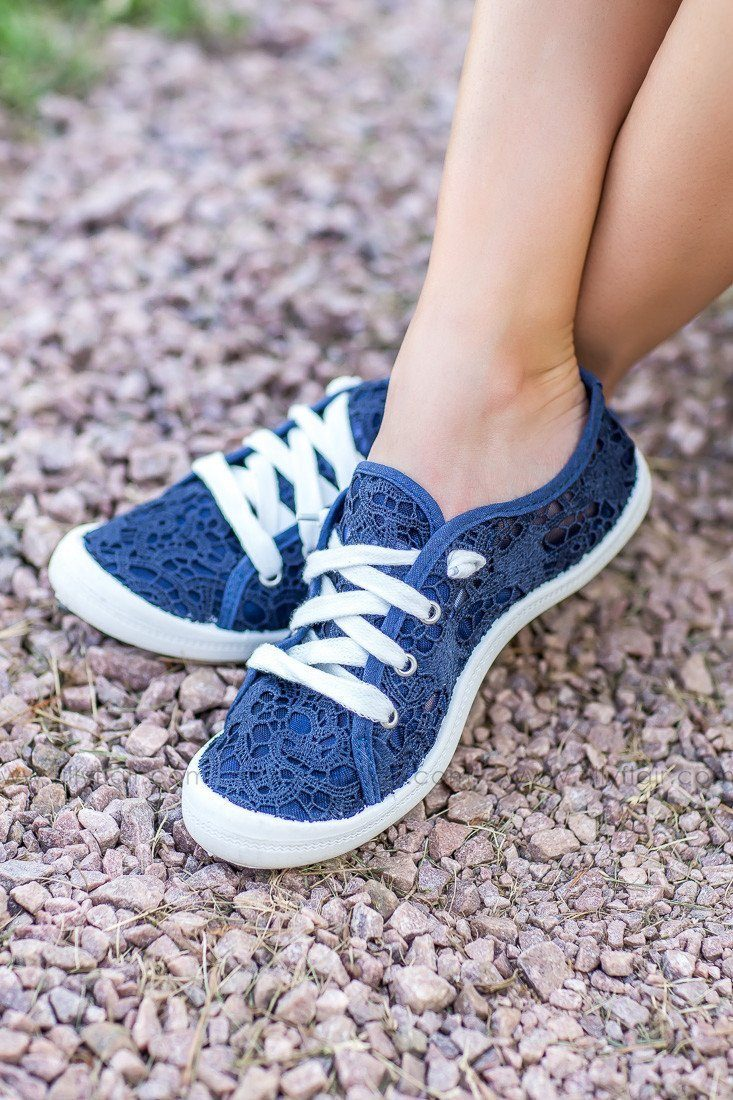 Not Rated Charon Navy Sneaker
