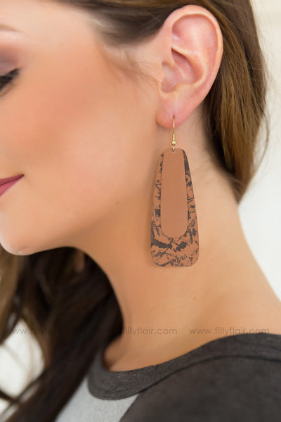 Like You Do Layered Earrings in Brown - Filly Flair