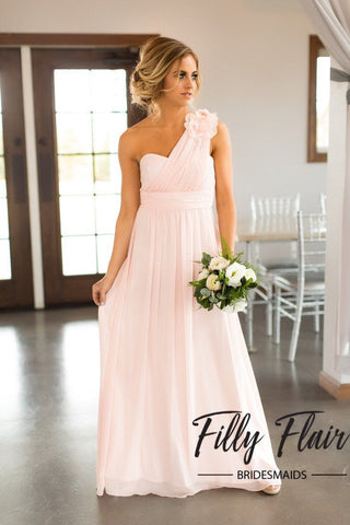 Pink Bridesmaid Dress