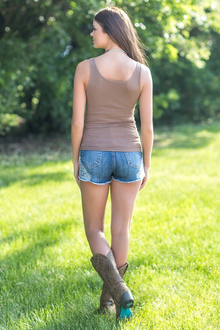 NIKIBIKI Tank Top In Taupe - Filly Flair