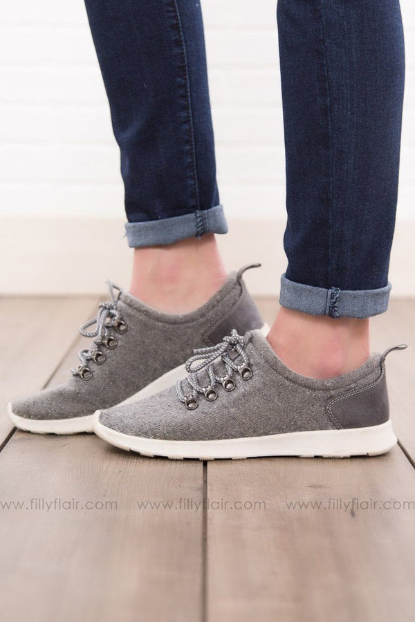 Not Rated Denise Grey Sneakers