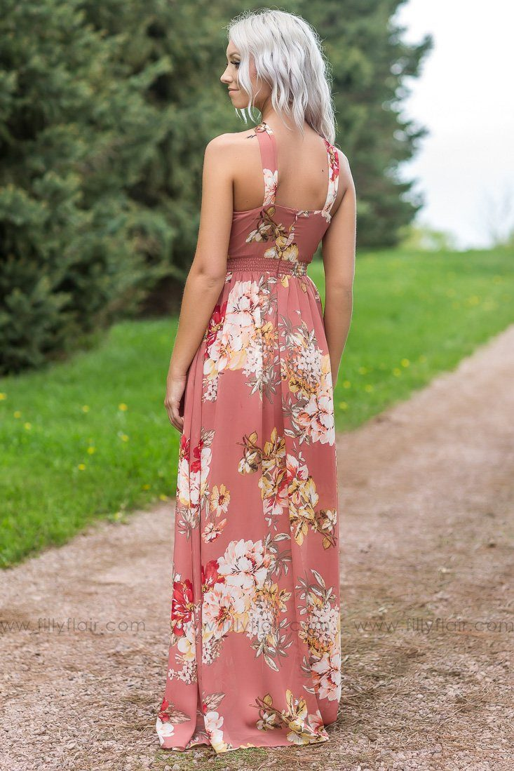 Filly Flair Exclusive: Lovely Days Floral Sleeveless Maxi Dress - Filly Flair