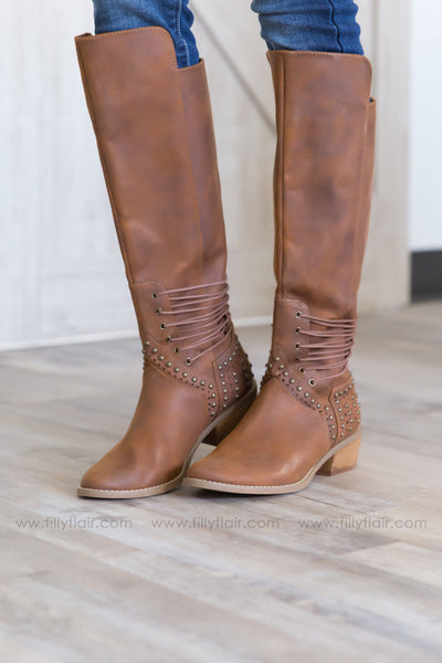 Not Rated Rumi Tan Boots - Filly Flair