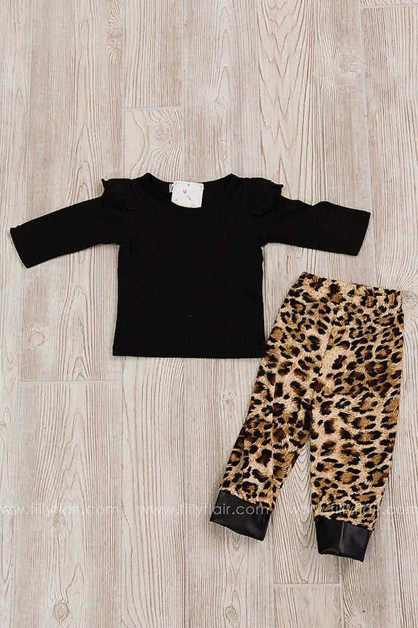 Cheetah Girl Two Piece Outfit