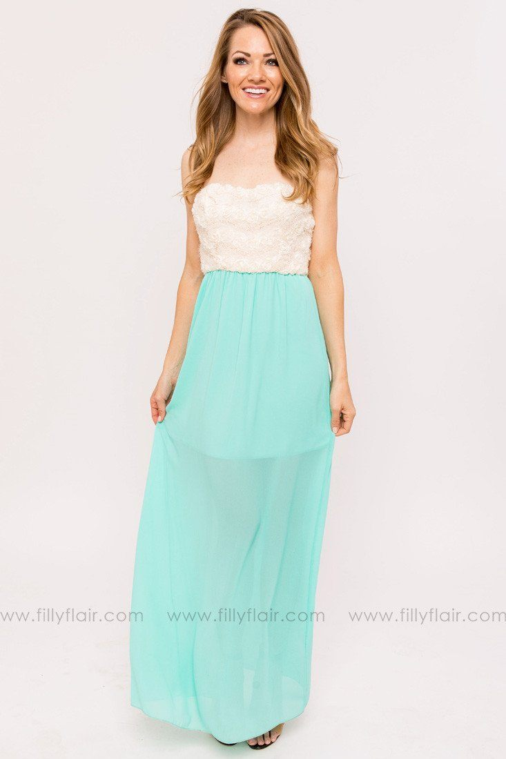 Natalie Bridesmaid Dress in Mint