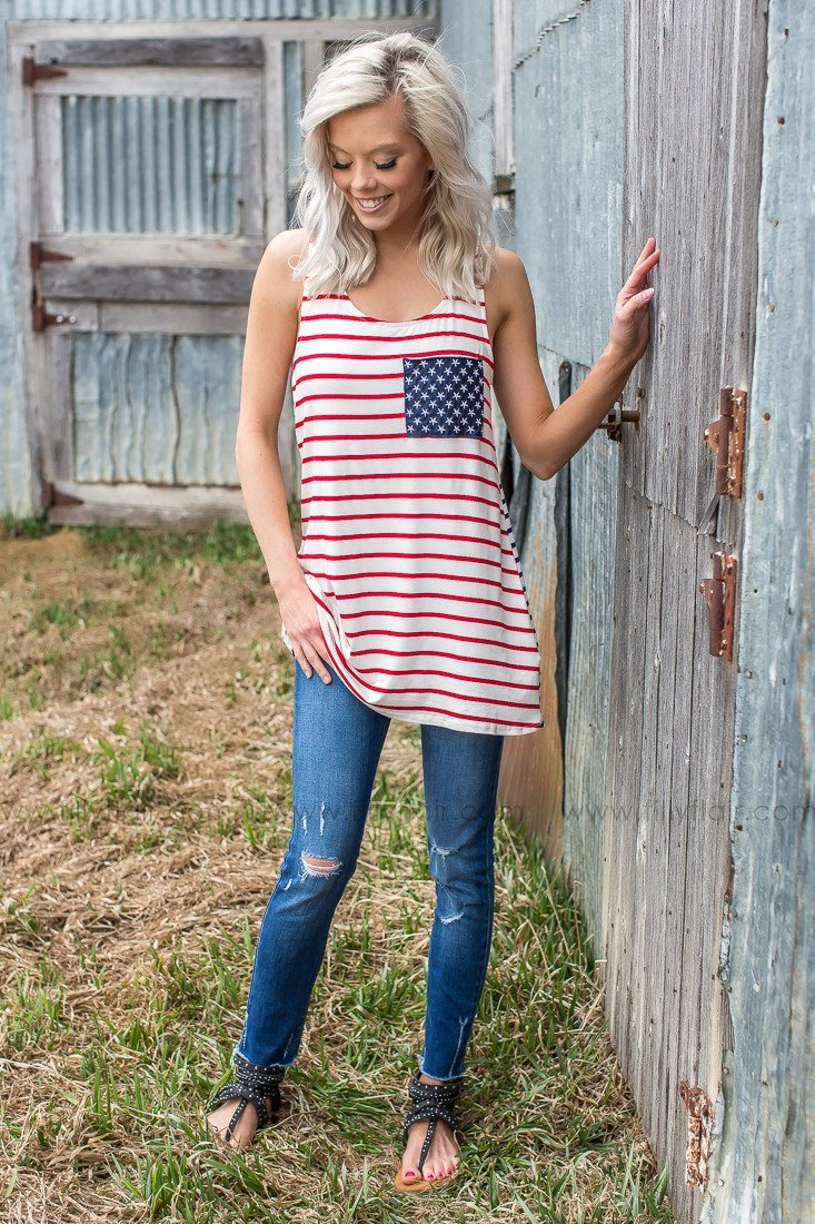 My Stars and Stripes Tank