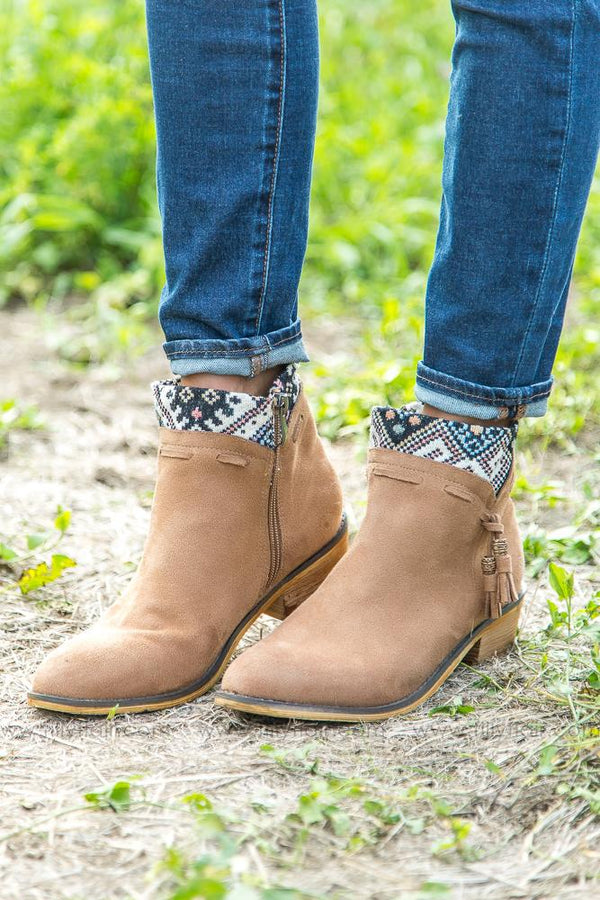 Get Kicking Camel Venture Bootie - Filly Flair