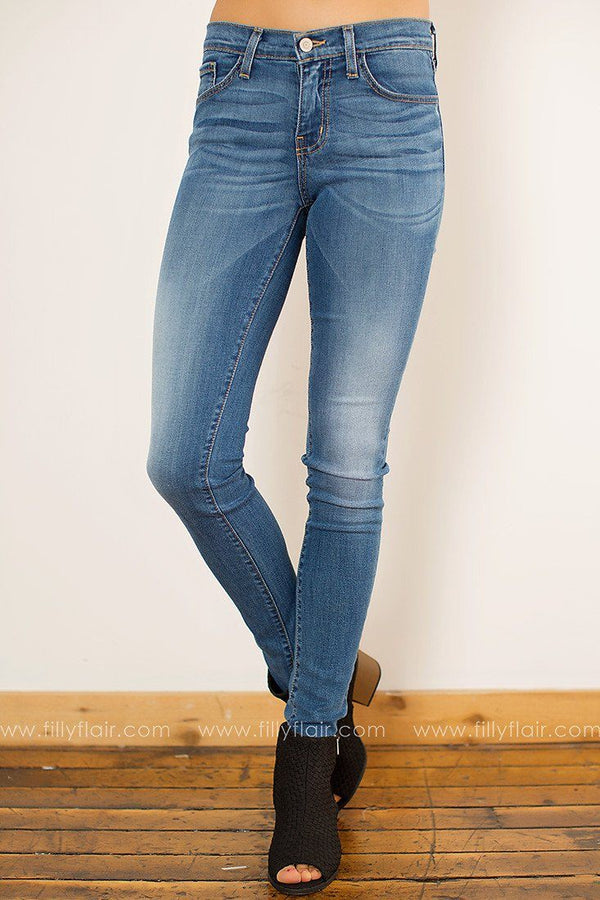 Flying Monkey Strong at Heart Skinny Jean