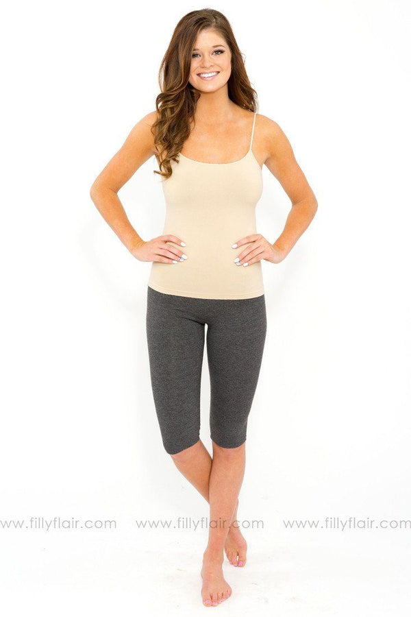 Half Leggings in Grey
