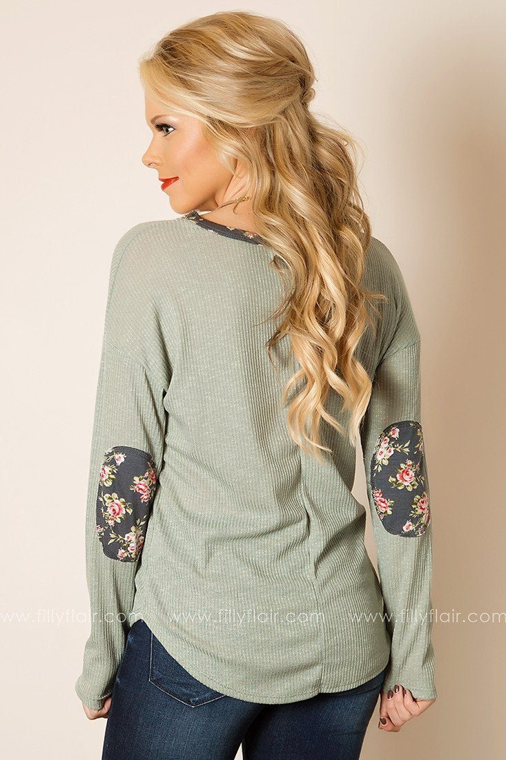 This Moment Long Sleeve Top in Sage