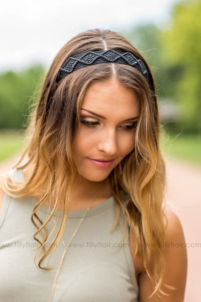Black Dream Catcher Headband of Hope - Filly Flair
