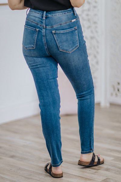 Kensington KanCan High Rise Medium Wash Super Skinny Jean - Filly Flair