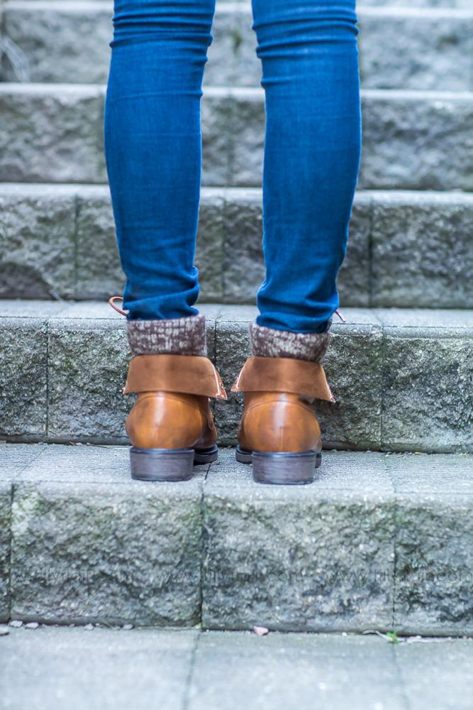 Short Barcelona Sweater Boots in New Tan - Filly Flair