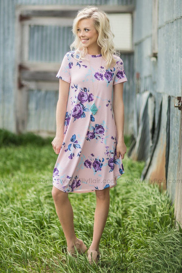 Be Mine Floral Print Dress