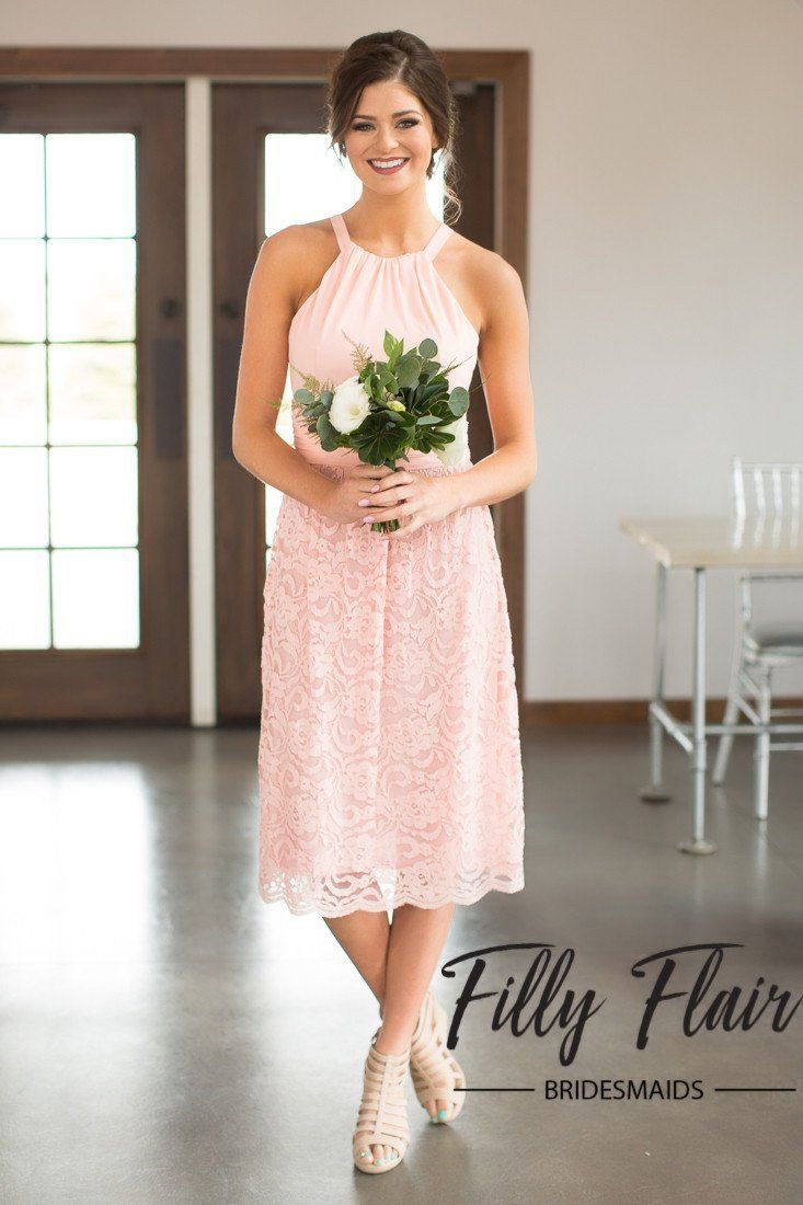 Alayna bridesmaid dress in blush filly flair alayna bridesmaid dress in blush pink bridesmaid dress ombrellifo Choice Image