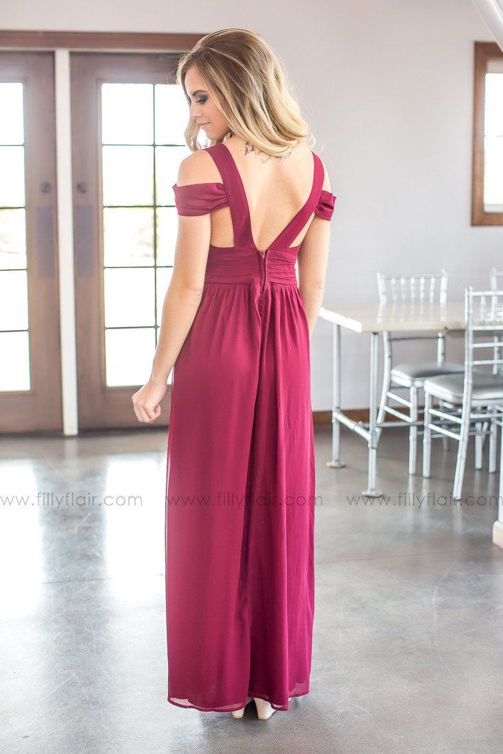 Madison bridesmaid dress in burgundy filly flair long bridesmaid dresses ombrellifo Choice Image