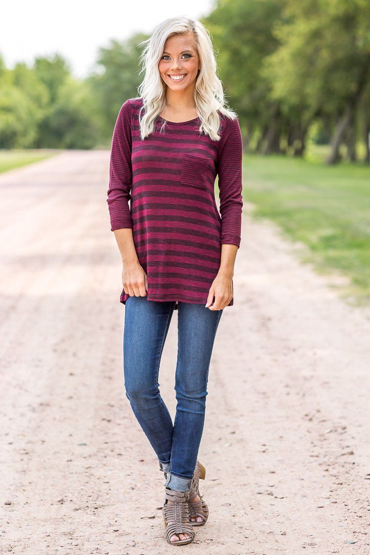 affordable burgundy tops