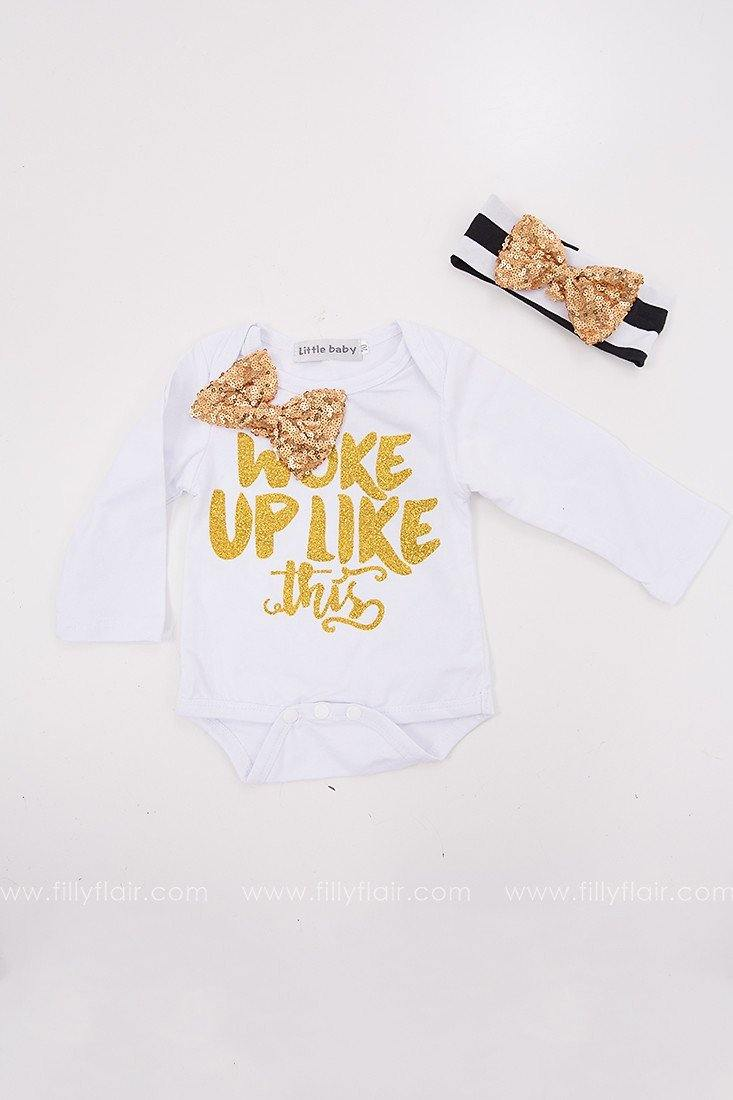 Queen B Kid's Onesie