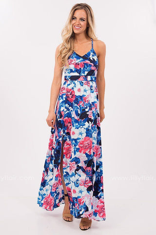 Secret Garden Floral Maxi Dress - Exclusive