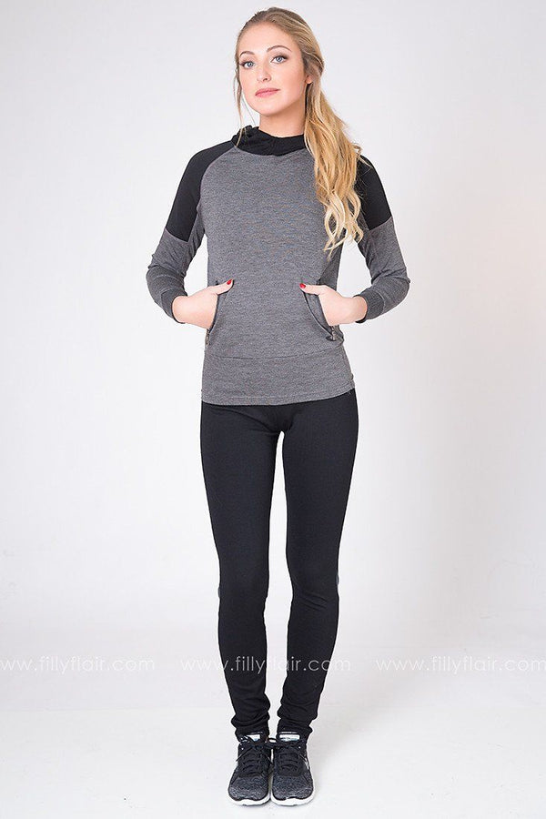 Home Stretch Leggings with Grey