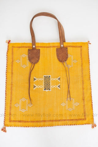 The One Canvas Bag in Marigold