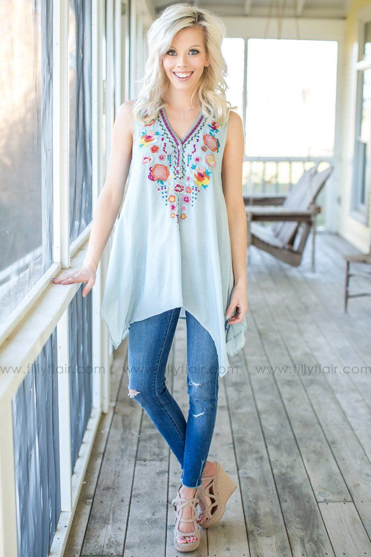 trendy boutique top
