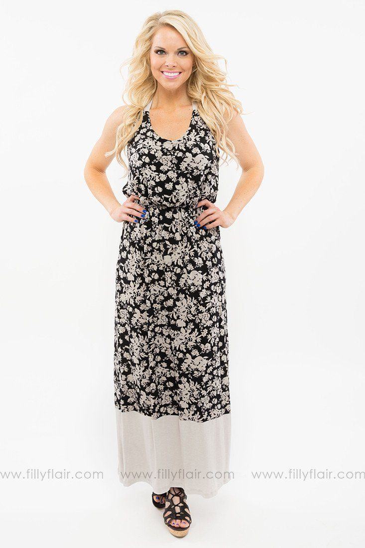 Without a Doubt Maxi Dress
