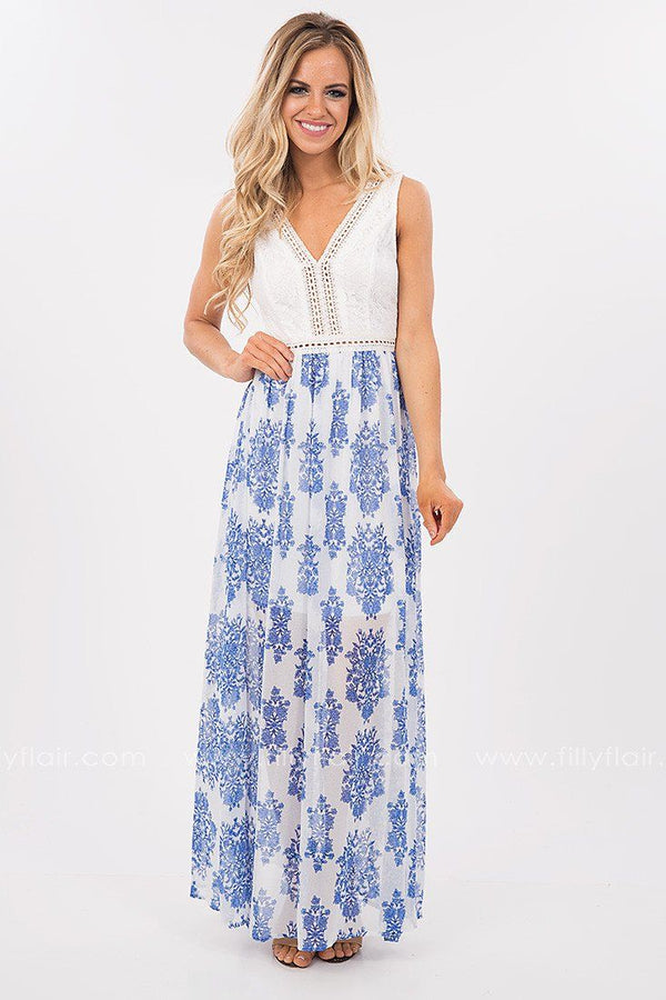A Daydream Away Printed Maxi Dress