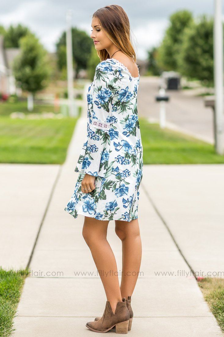 Lost in a Dream Floral Exclusive Dress