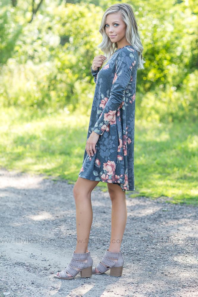 Swinging it High Floral Dress - Filly Flair