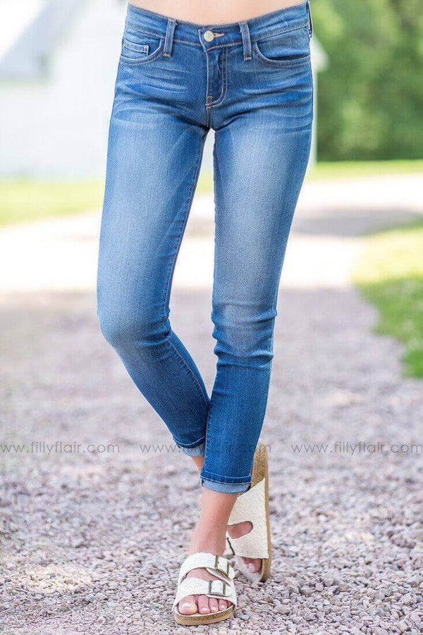 Flying Monkey Rolled Jeans