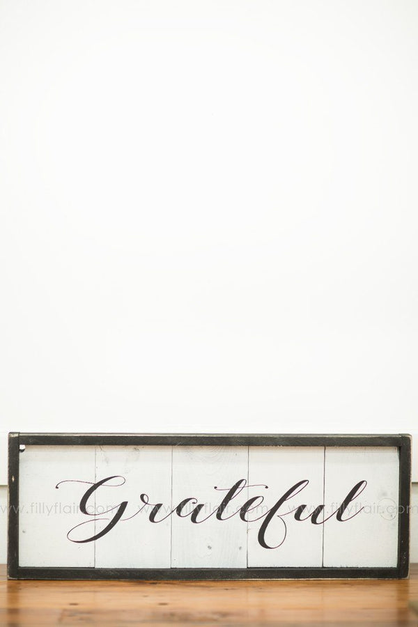 grateful home decor