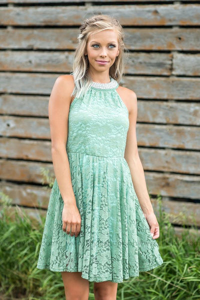 Sienna Dress In Sage - Filly Flair