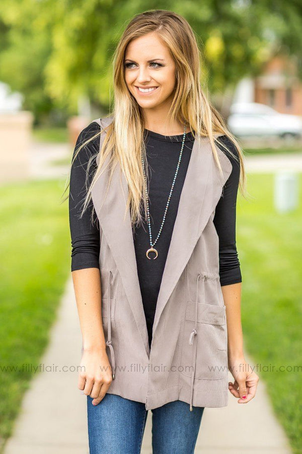Back to Business Grey Vest