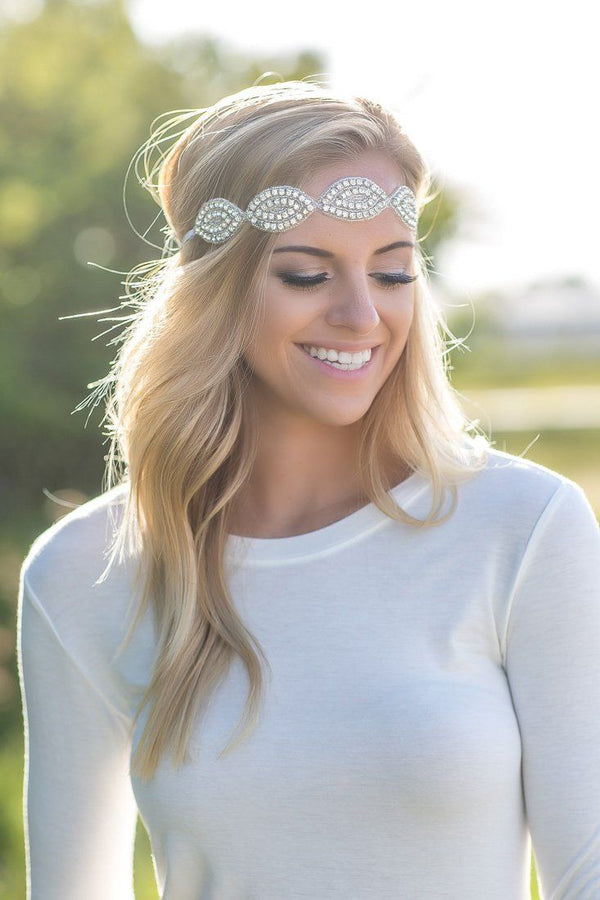 Silver LOVE Headband of Hope