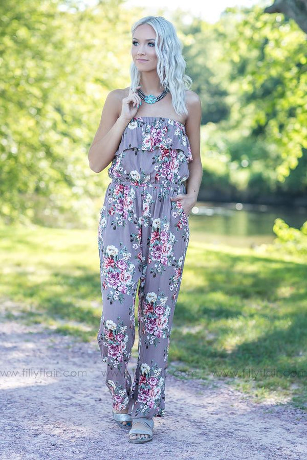 The Perfect Style Jumpsuit in Dusty Mocha - Filly Flair