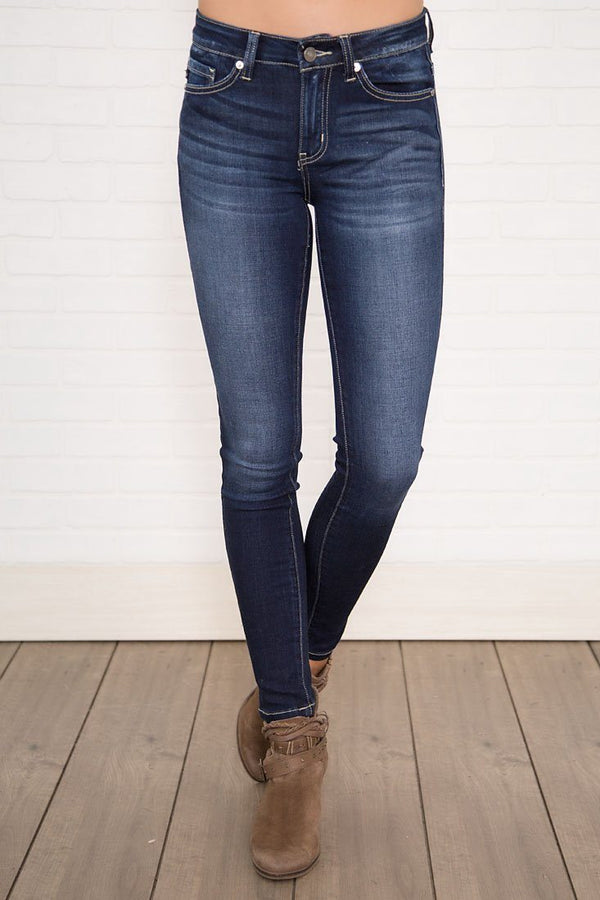 My Love KAN CAN Dark Wash Skinny Jeans