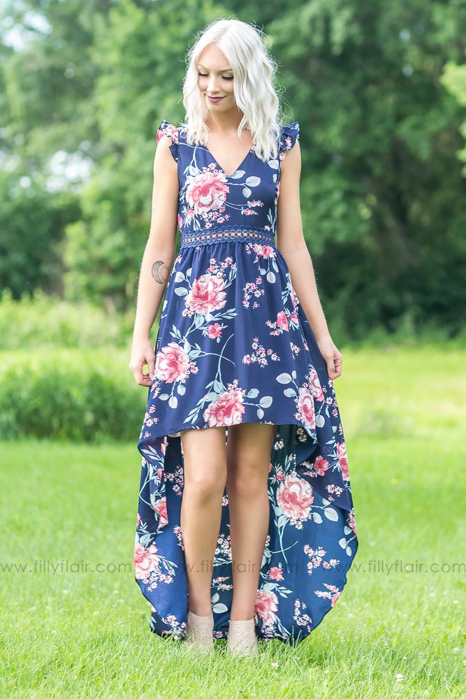 Filly Flair Exclusive: Beautiful Day Keyhole Maxi Dress - Filly Flair