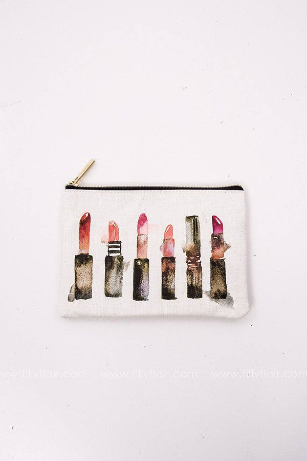 lipstick makeup bag
