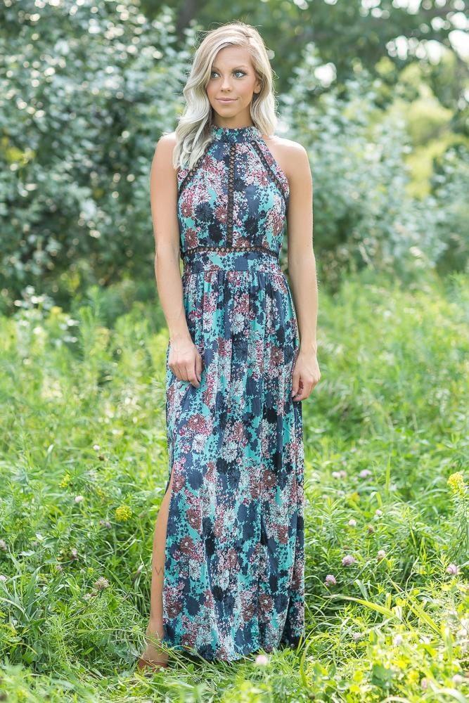 Everyday Beauty Floral Maxi Dress - Filly Flair